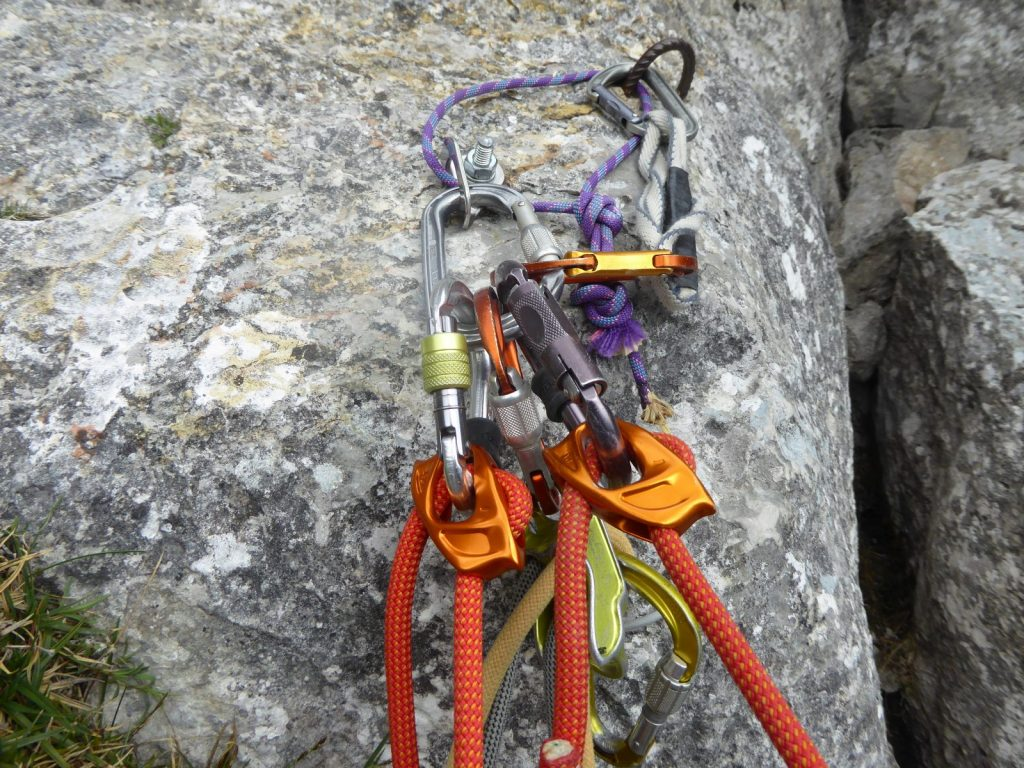 Eigenengagement bei der Sicherung ist z.T. durchaus gefragt, Foto: Bonnie Klingler | Climbers Paradise