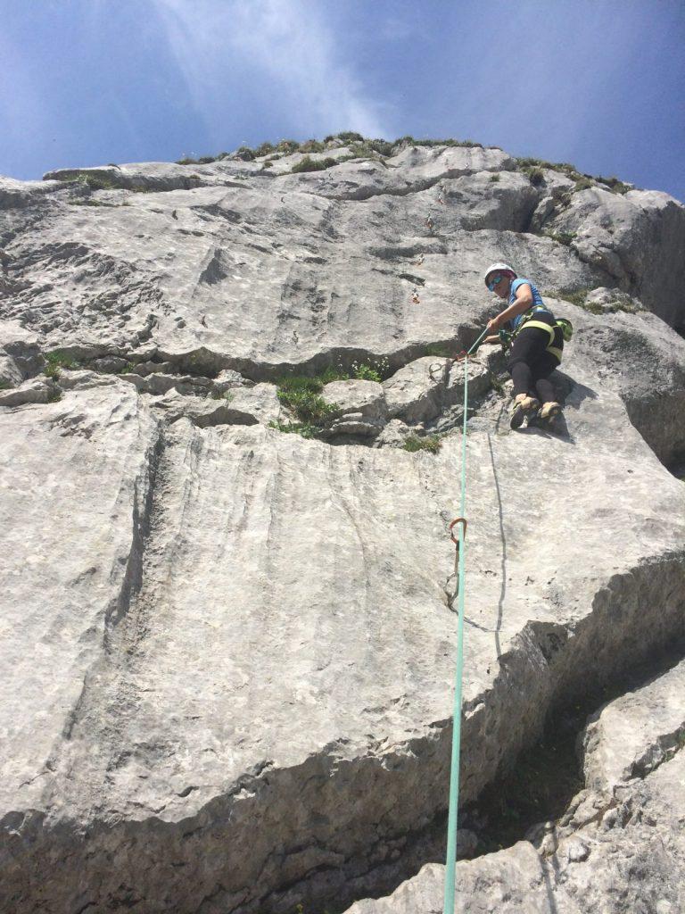 Genussklettern nahe der Coburger Hütte | Climbers Paradise