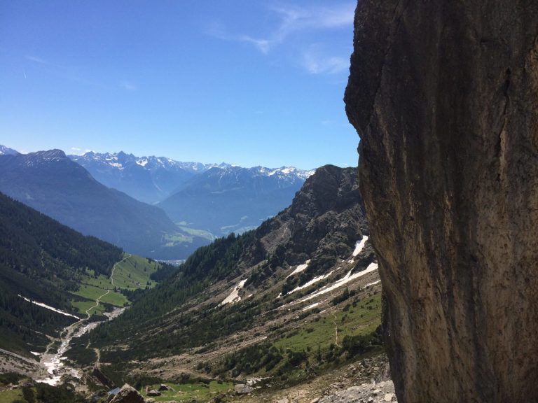 Klettern mit Aussicht bei der Muttekopfhütte | Climbers Paradise