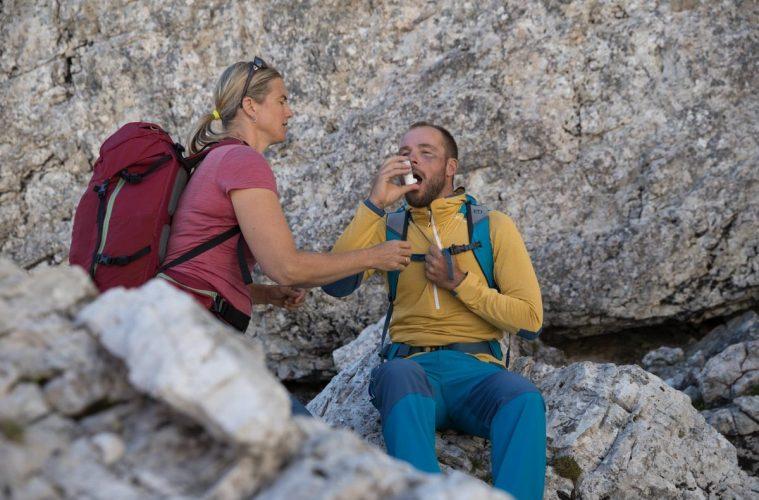 Erste Hilfe bei einem Asthmaanfall, Foto: Hansi Heckmair | Climbers Paradise