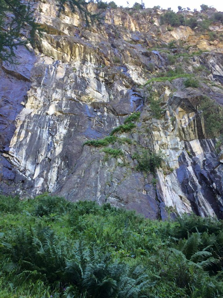 Der Felsriegel des Klettergartens Gailwand | Climbers Paradise