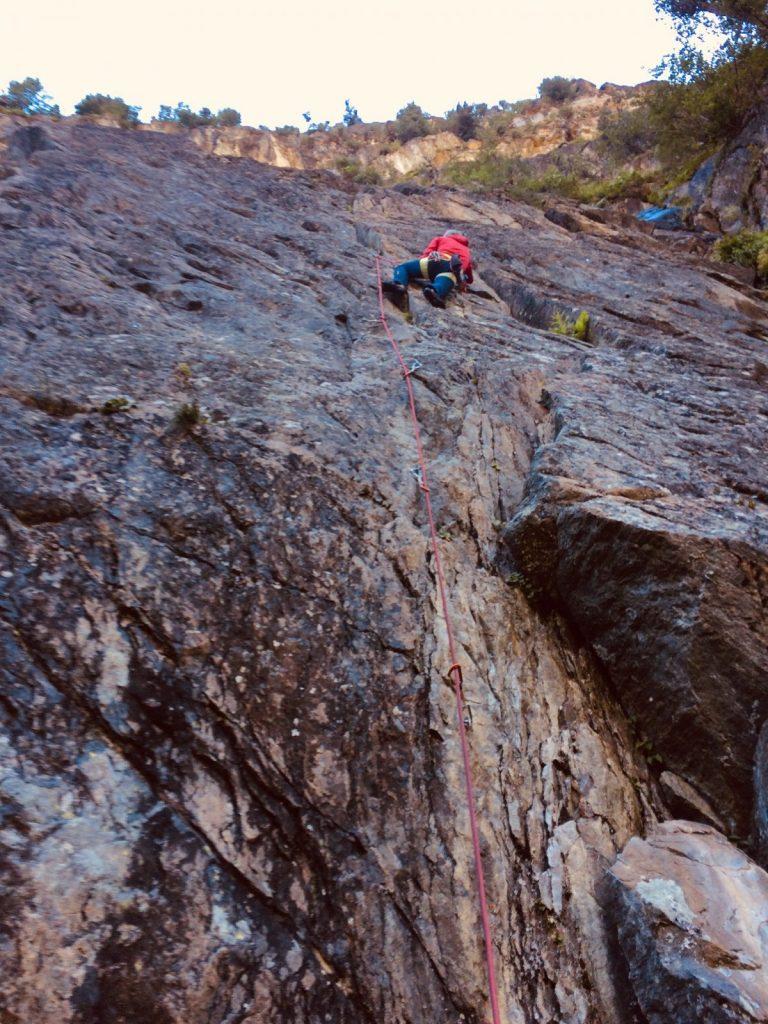Die Route Joshua Tree Classic (6a+) im Klettergarten Gailwand im Kaunertal | Climbers Paradise