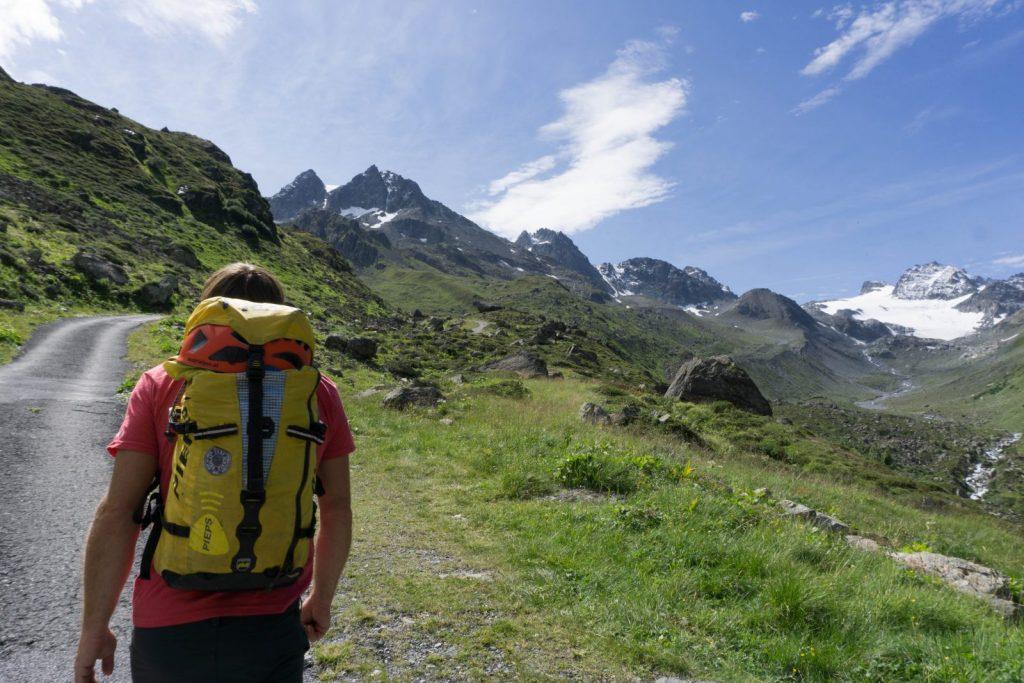Der Zustieg zur Jamtalhütte in Paznaun | Climbers Paradise