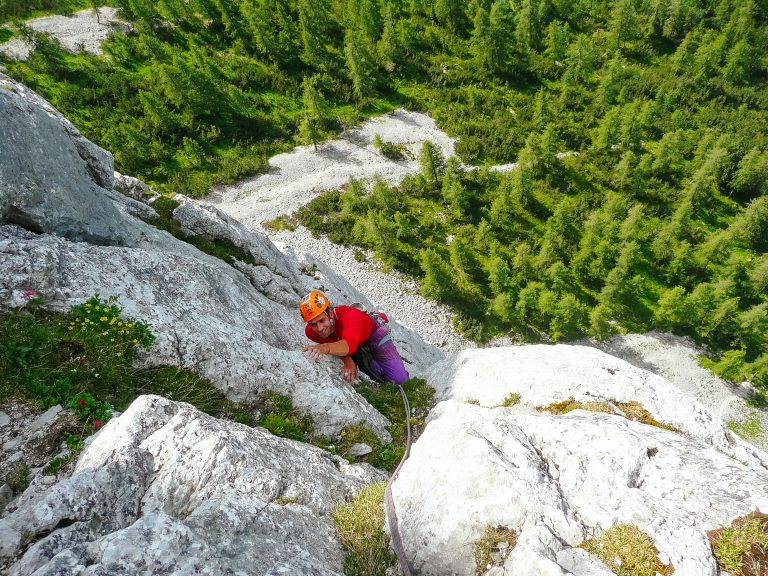 Die Route 'Hitzeflucht' (8), Foto: Simon Schöpf   Climbers Paradise
