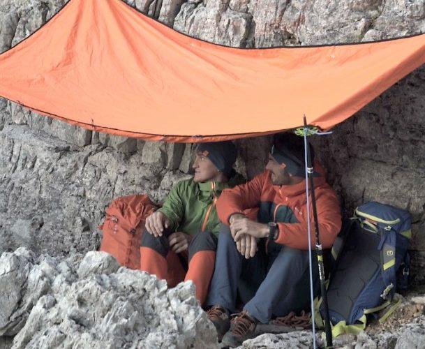 In Notsituationen am Berg biwakieren, Foto: Hansi Heckmair | Climbers Paradise