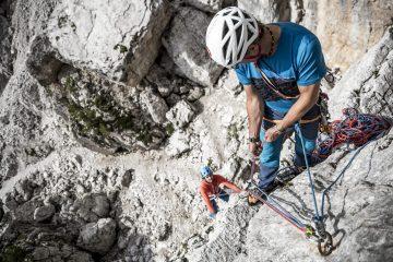 Der Expressflaschenzug, Foto: Hansi Heckmair | Climbers Paradise
