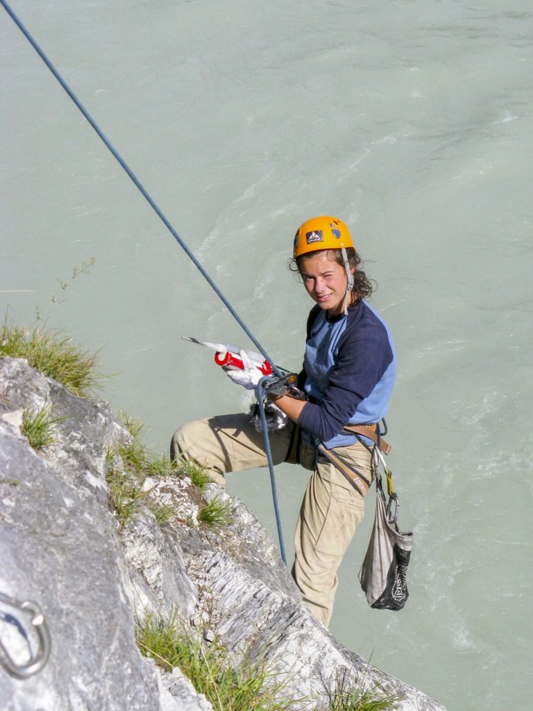 Sanierungsarbeiten bei Stams, Foto: Mike Gabl | Climbers Paradise