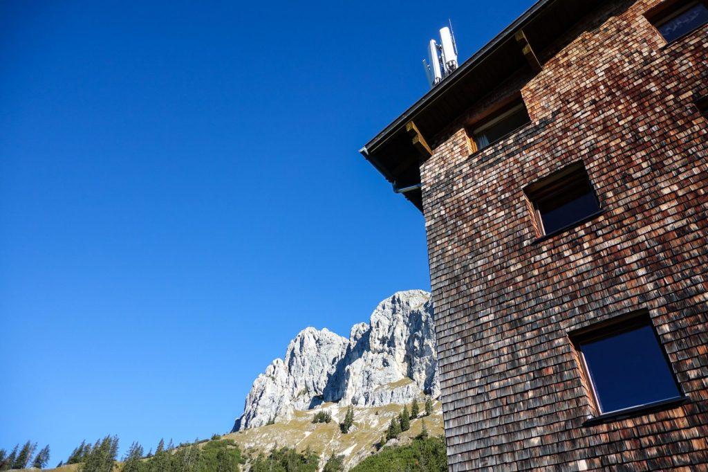 Das Gimpelhaus im Tannheimer Tal, Foto: Simon Schöpf | Climbers Paradise