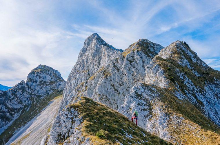 Phantastische Landschaft: Ausblick auf den Gimpel, Foto: Simon Schöpf | Climbers Paradise