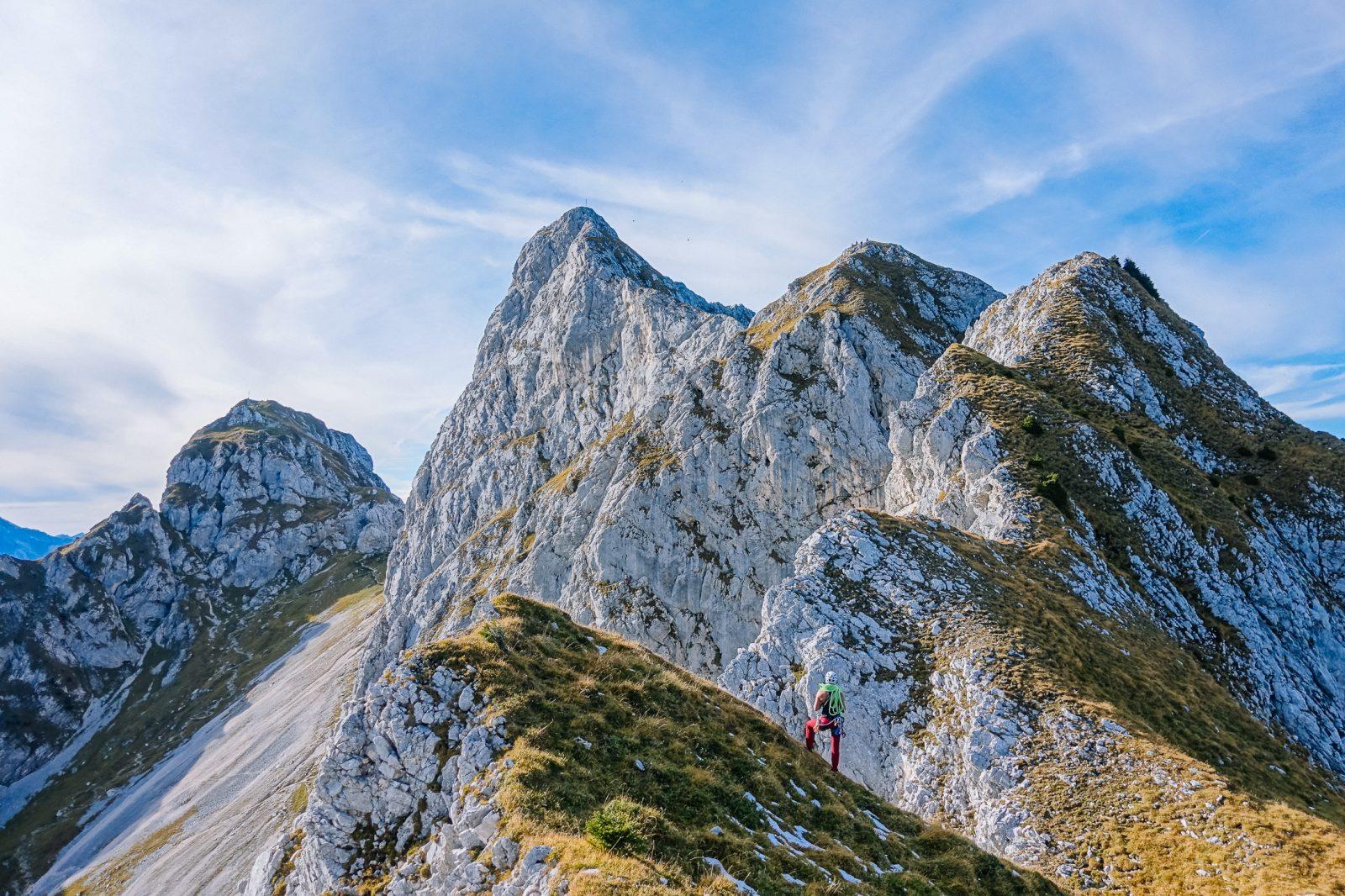 Spannender Fels in der Region Tannheimer Tal, Foto: Simon Schöpf | Climbers Paradise