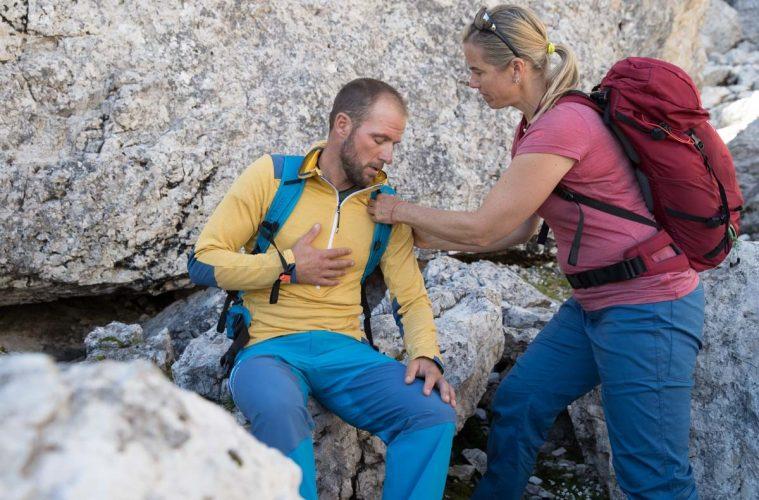 Erste Hilfe bei einem alpinen Notfall, Foto: Hansi Heckmair | Climbers Paradise