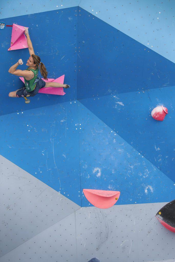 Wettkämpfe bestreitet Anna Stöhr nun nicht mehr, Foto: Heiko Wilhelm | Climbers Paradise