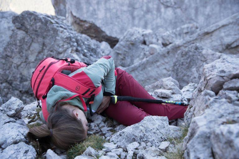 Erste Hilfe bei stumpfen Bauchtrauma, Foto: Hansi Heckmair | Climbers Paradise