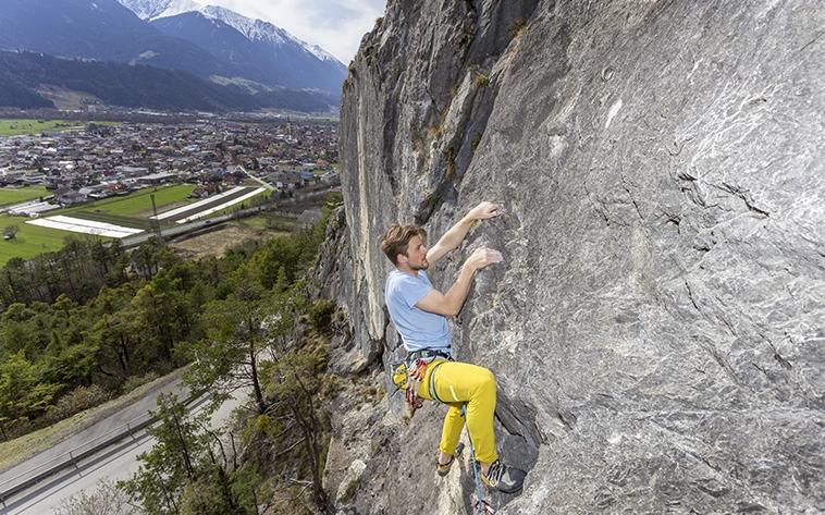 Kletterzüge an der Brunntalwegwand, Foto: Günter Durner | Climbers Paradise