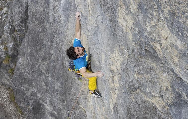 Klettern an der Grottenwegwand, Foto: Günter Durner | Climbers Paradise