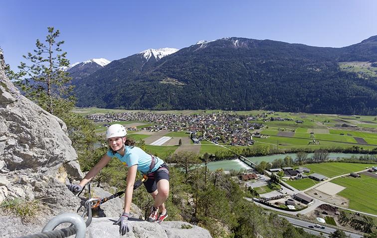 Unterwegs auf dem Klettersteig Crazy Eddy, Foto: Günter Durner | Climbers Paradise