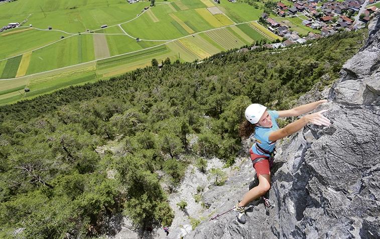 Ein Ganzjahres-Fels: die Rote Wand, Foto: Günter Durner | Climbers Paradise