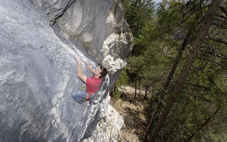 Kletterzüge im Klettergebiet Telfs Hex, Foto: Günter Durner | Climbers Paradise