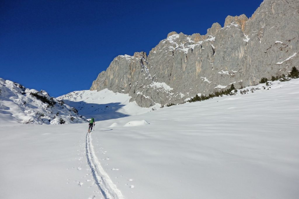Der Weg zum Schüsselkar, Foto: Simon Schöpf | Climbers Paradise
