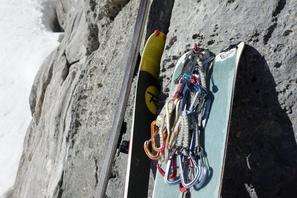 Die Ausstattung für ski & climb, Foto: Simon Schöpf | Climbers Paradise