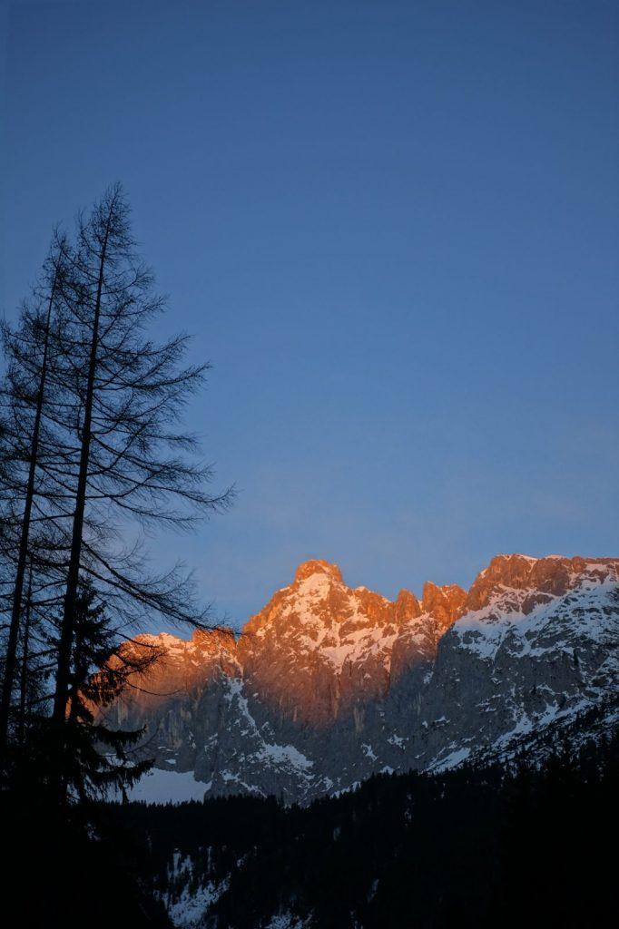 Der Morgen im Wettersteingebirge, Foto: Simon Schöpf | Climbers Paradise