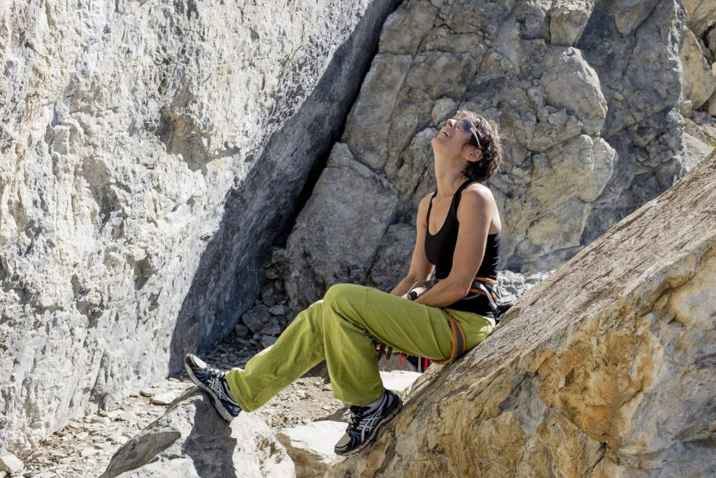 Singlkletterer sind nicht lange allein, Foto: Tirol Werbung, Hans Herbig | climbers paradise