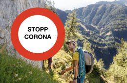 Corona-Stopp, Foto: Tirol Werbung, Robert Pupender | Climbers Paradise