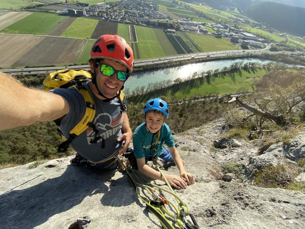 Kinder-Klettertraining: Der Spaß steht im Vordergrund, auch am Fels, Foto: Matthias Bader   Climbers Paradise