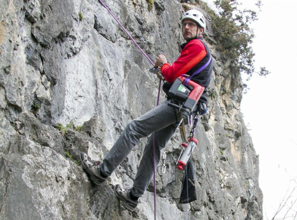 Mike Gabl, Im Einsatz in Walchenbach, Foto: Mike Gabl | Climbers Paradise
