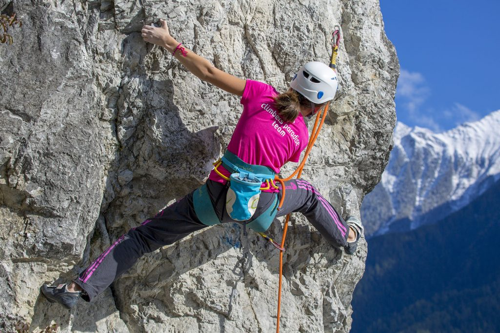 Tolles Ambiente in Stams, Foto: Mike Gabl | Climbers Paradise