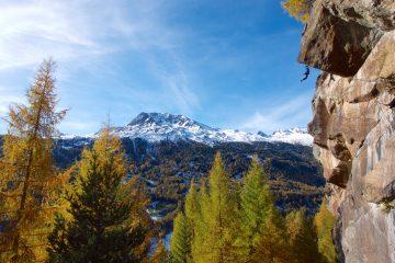 Traumhafter Herbsttag im hinteren Ötztal, Moosalm | Climbers Paradise. Foto: Simon Schöpf