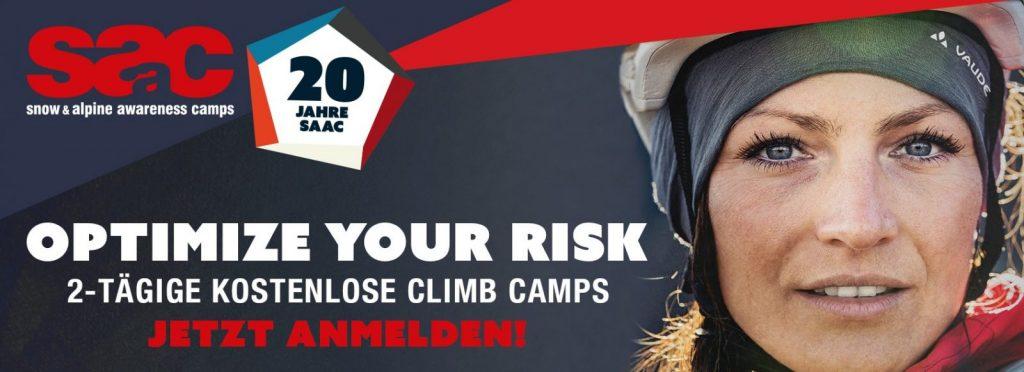 Anmeldung SAAC Climb Camps | Climbers Paradise