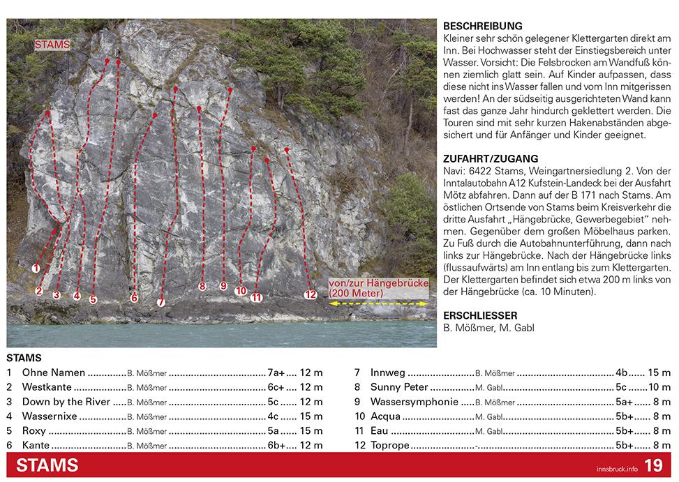 Kletterführer, Beispiel Wandfoto, Günter Durer| Climbers Paradise