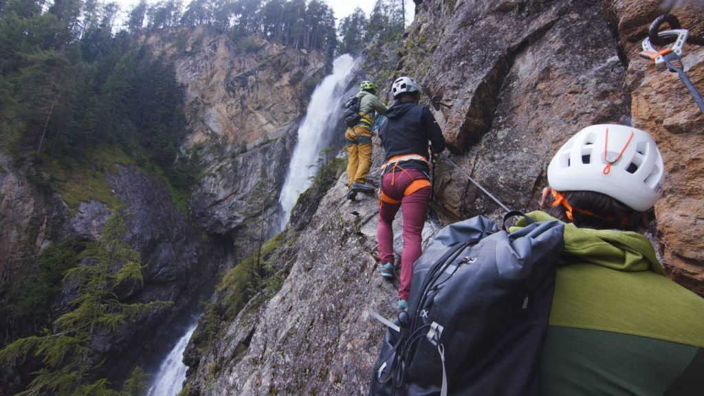 Klettersteigtutorial-Tourenplanung, Gruppengröße, Foto: Alpsolut, Österreichischer Alpenverein | Climbers Paradise