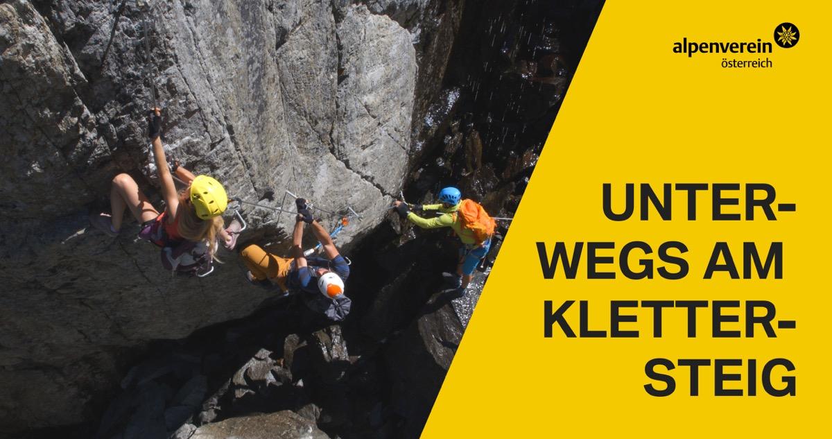Klettersteigtutorial - unterwegs am Klettersteig, Österreichischer Alpenverein | Climbers Paradise