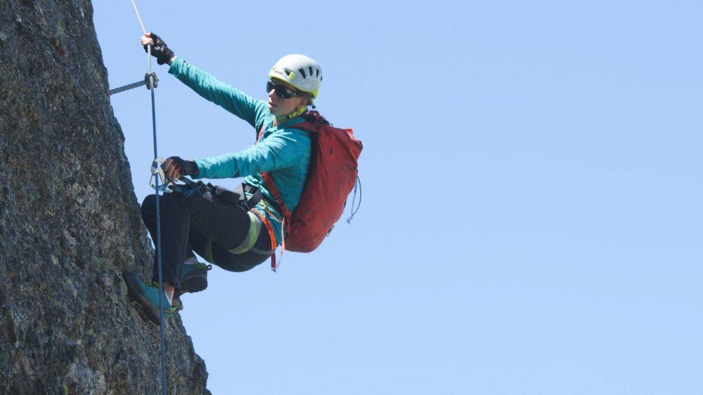 Klettersteigtutorial - Unterwegs, Kraft in den Beinen, Foto: Alpsolut, Österreichischer Alpenverein | Climbers Paradise