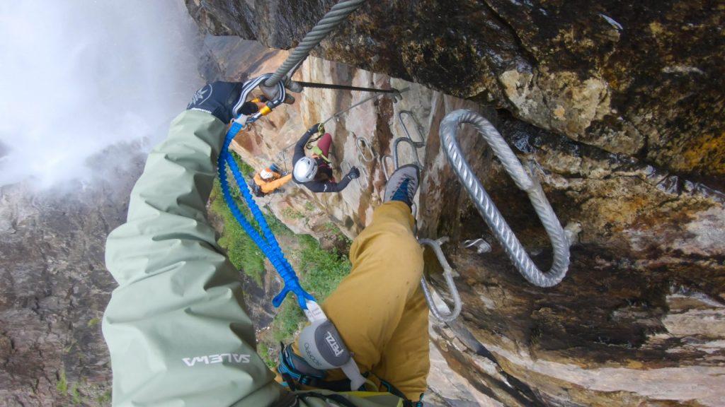 Klettersteigtutorial - Arten und Schwierigkeiten, Sportklettersteig, Alpsolut, Österreichischer Alpenverein | Climbers Paradise