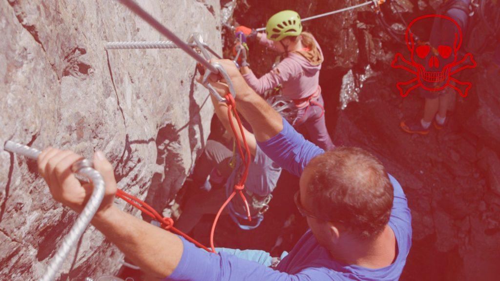 Klettersteigtutorial-Klettersteigset, Reepschnüre, Foto: Alpsolut, Österreichischer Alpenverein | Climbers Paradise
