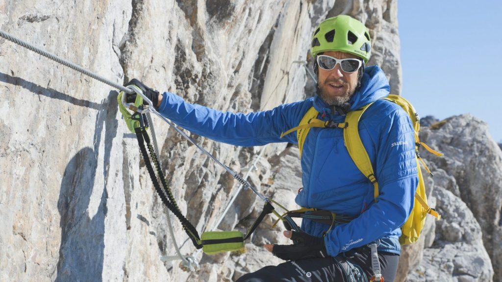 Klettersteigtutorial-Klettersteigset, korrektes Klettersteigset, Foto: Alpsolut, Österreichischer Alpenverein | Climbers Paradise