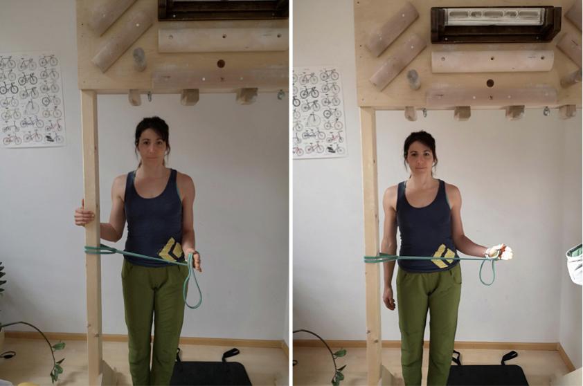Kletter-Ausgleichsübungen, Schulterrotation, Martina Scheichl | Climbers Paradise