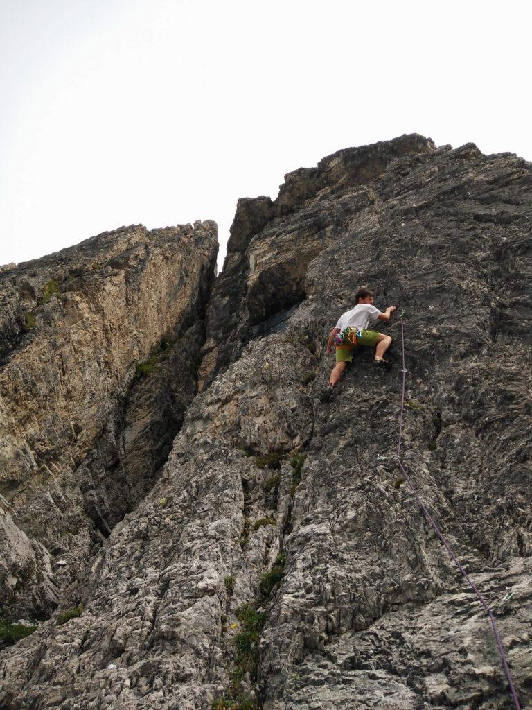 Klettern und Corona - Dr. Rouven Hornung beim Klettern in den Kalkkögel, Foto: Dr. Rouven Hornung | Climbers Paradise