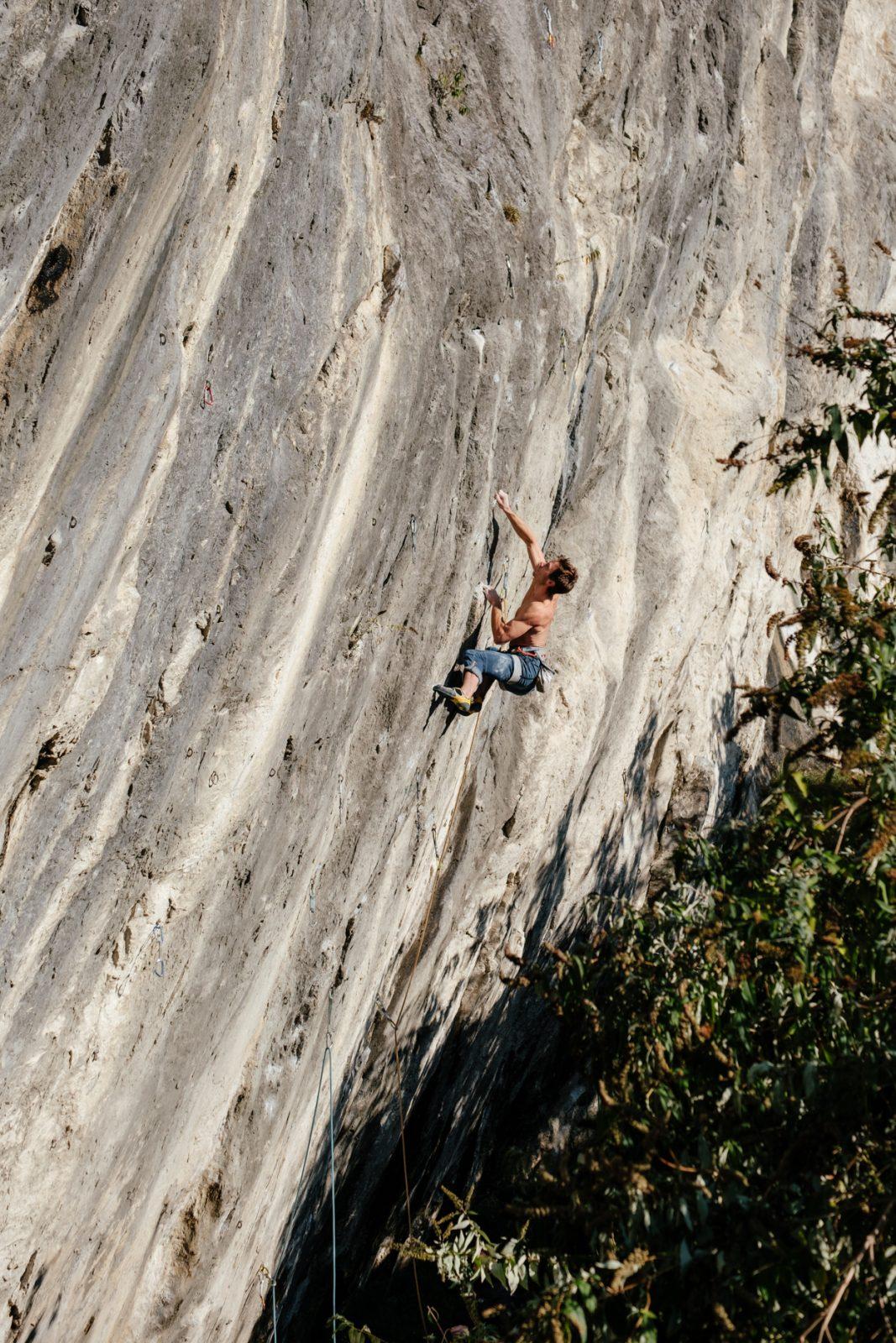Corona Ansteckung am Fels - Klettern Dschungelbuch, Martinswand, Foto: Simon Schöpf | Climbers Paradise