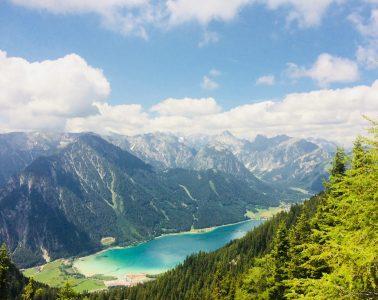 Achensee - Achensee Blick Rofan, Foto: Achensee Tourismus   Climbers Paradise