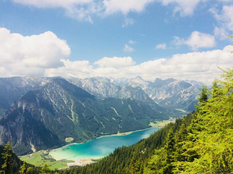 Achensee - Achensee Blick Rofan, Foto: Achensee Tourismus | Climbers Paradise