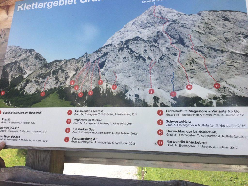 Achensee - Klettertafel Sonnjoch Karwendel, Foto: Susa Scheiner | Climbers Paradise