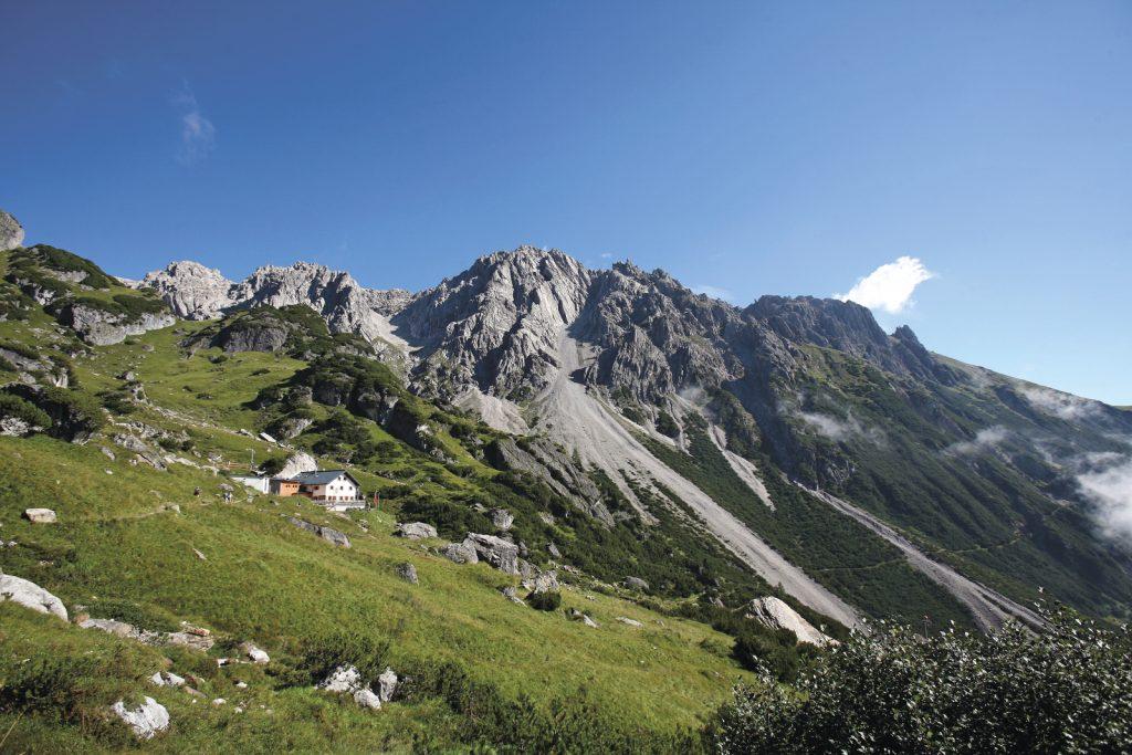 Imst- Muttekopfhütte, Foto: Tirol Werbung | Climbers Paradise