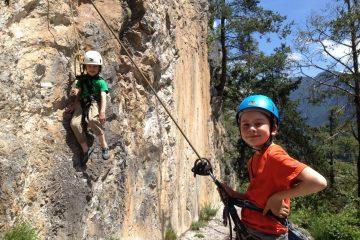 Kinder-Kletterausrüstung, Foto: Matthias Bader | Climbers Paradise
