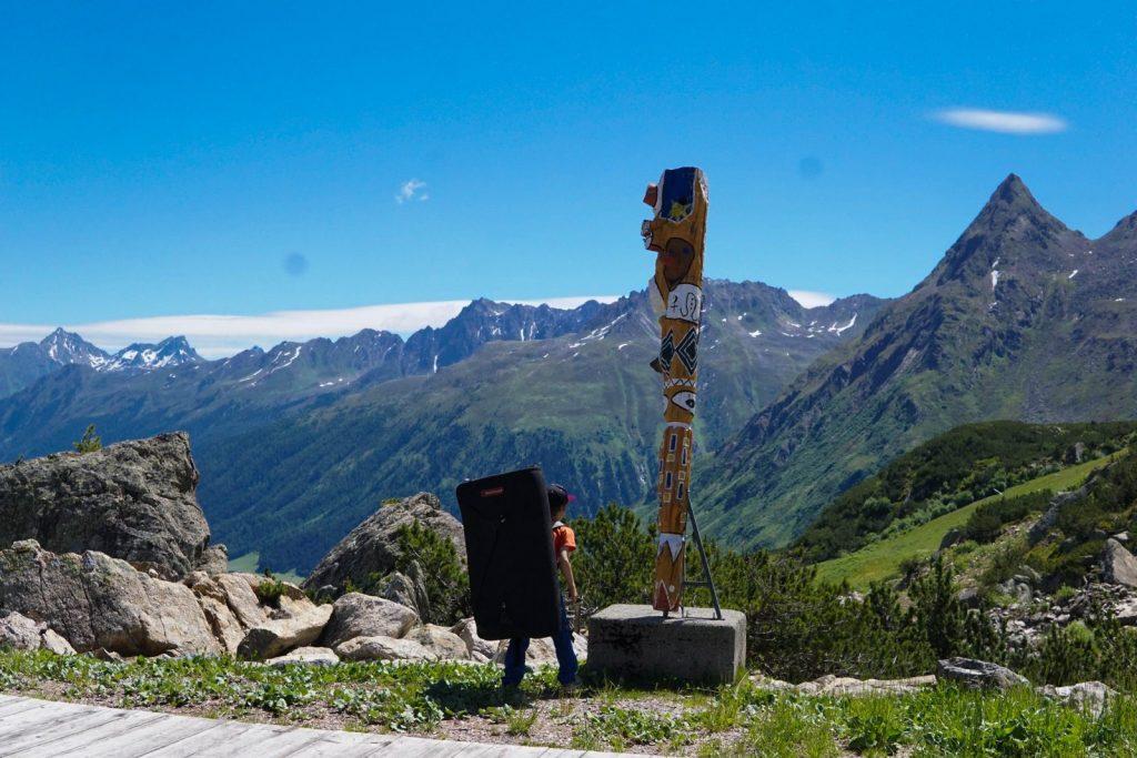 Klettern mit Kindern - Bouldern, Foto: Matthias Bader |Climbers Paradise