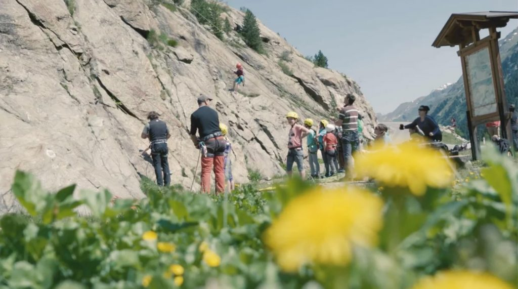 Holderli Seppl Klettersteig Kaunertal. Foto: TVB Kaunertal