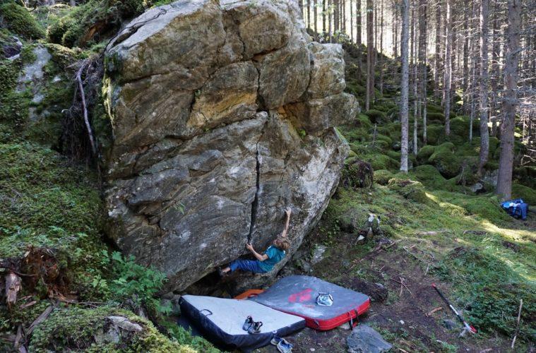 Bouldern mit Kindern, Foto: Matthias Bader | Climbers Paradise